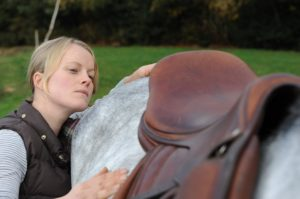 Olivia Jones, Equine and Animal Chiropractor.