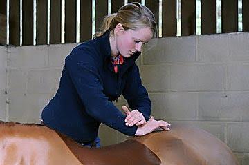 Olivia Jones chiropractic treatment